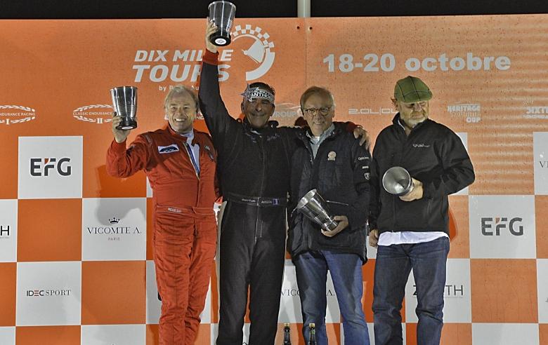Gipimotor remporte le titre Sixties' Endurance lors des Dix Mille Tours du Castellet.