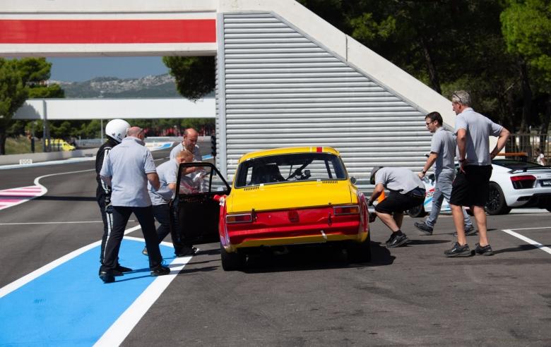 Dix Mille Tours du Castellet : Ferrari 250 GT Drogo op het podium