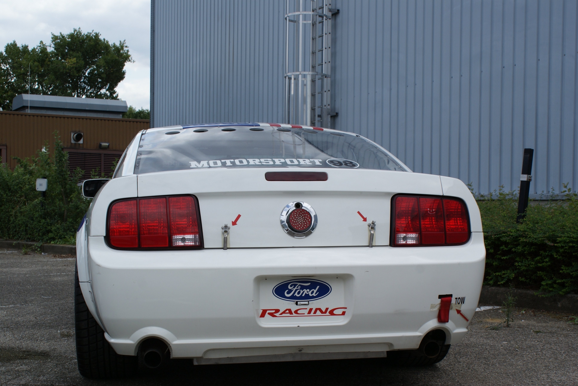 Mustang GT4 · Gipimotor