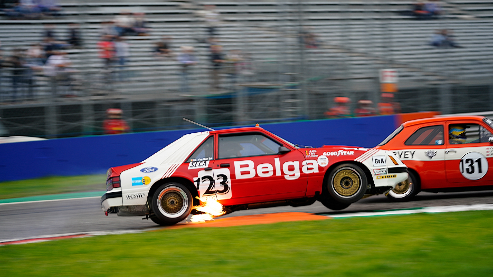 Belles prestations lors de Monza Historic & Spa Six Hours · Gipimotor