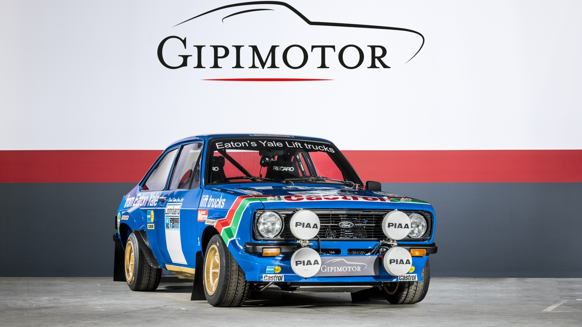 Ford - Escort MK2 Rally Gr4 (FIA legal) · Gipimotor