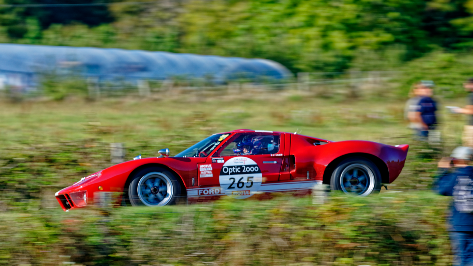 Gipimotor consolidates its 3rd place in VHC on the Tour Auto Optic 2000 · Gipimotor