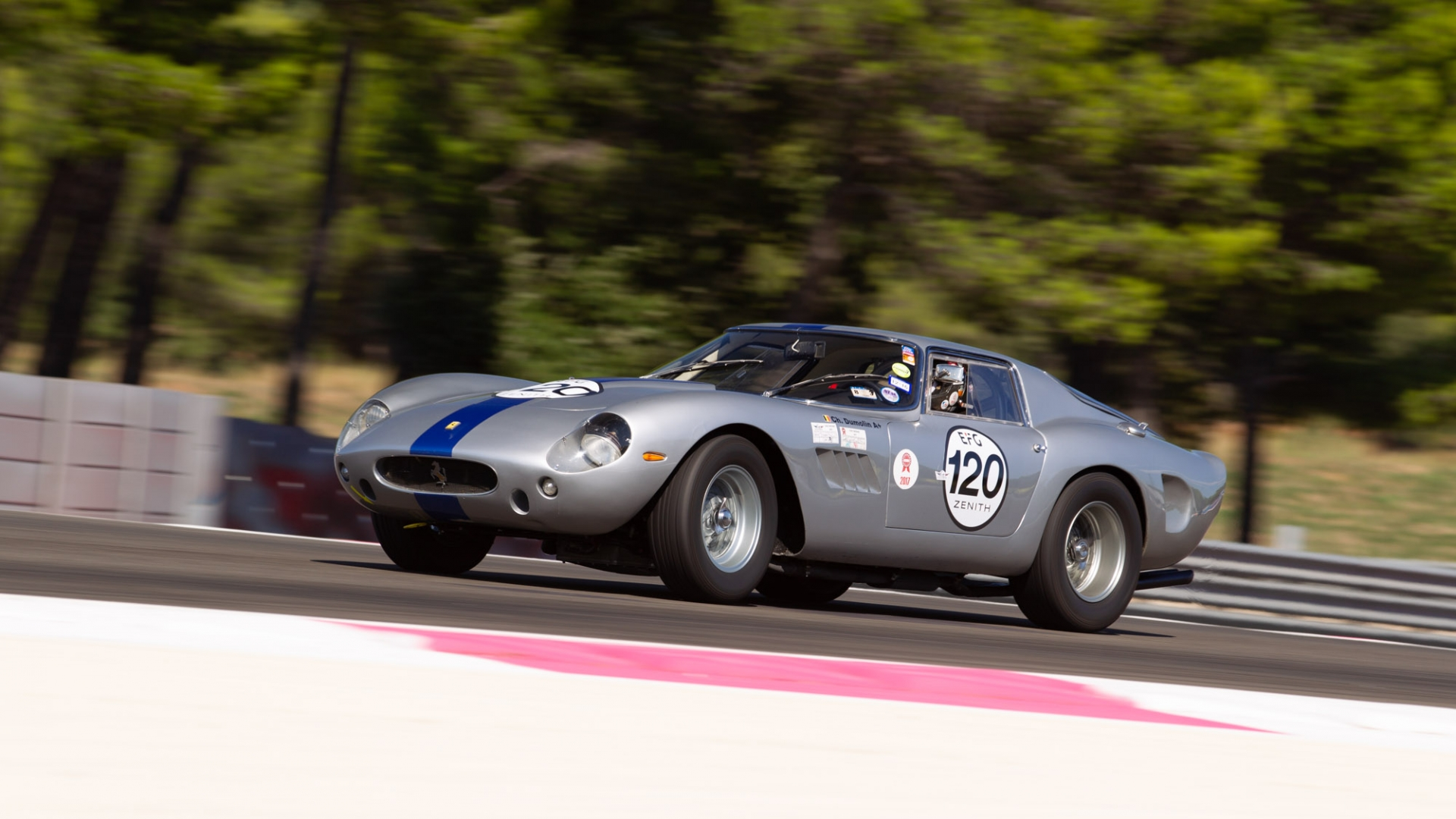 Dix Mille Tours du Castellet: Podium finish for Ferrari 250 GT Drogo · Gipimotor